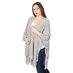 Feverfish - Grey knitted cape