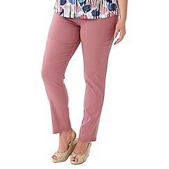 Lavitta - Pink pull on trousers