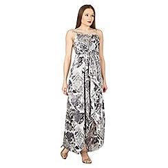 Izabel London - Multicoloured strappy high low hem maxi dress