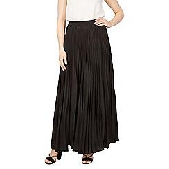 Jolie Moi - Black pleated maxi skirt