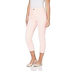 Roman Originals - Light pink cropped jeans