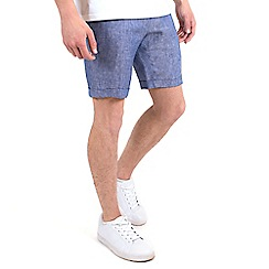 Steel & Jelly - Blue linen tailored shorts