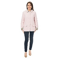 David Barry - Pink quilted jacket