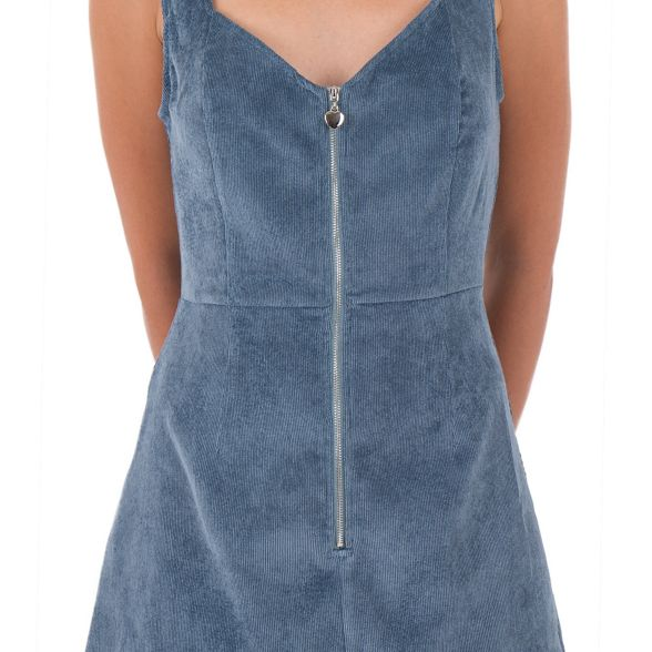 dress corduroy corduroy pinafore MISSTRUTH Blue Blue MISSTRUTH pinafore Blue MISSTRUTH dress corduroy qaOPp