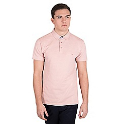 Steel & Jelly - Pink pique polo shirt