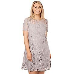 Arrae - Lilac corder lace dress