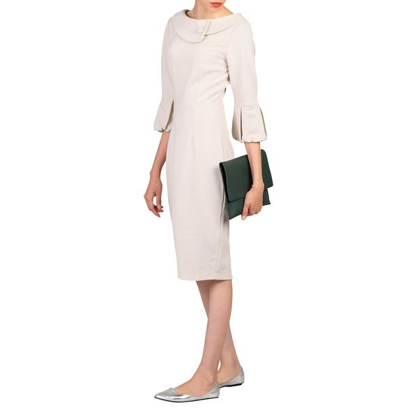 Moi bell retro Beige Jolie dress sleeves 8Aqvf