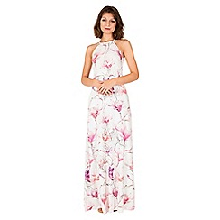 Anna Field - Off white floral high-neck maxi dress