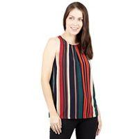 9d6f190193caa Izabel London - Multicoloured print vest top