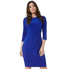 Roman Originals - Royal 3/4 sleeve twist waist dress
