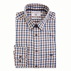 Bar Harbour - Gold check warm handle casual shirt