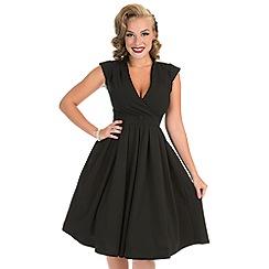 Lady Vintage - Black eva dress