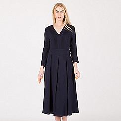 Anna Field - Dark blue midi punto dress