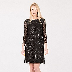 Anna Field - Black sequin embellished mini dress