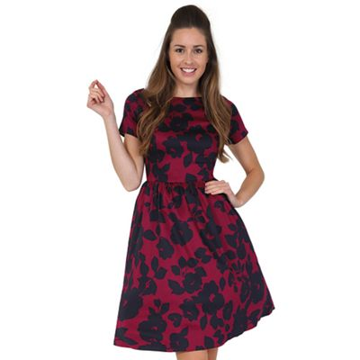 744d26b1bd26 Lady Vintage Red shades eloise dress