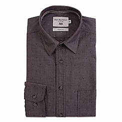 Bar Harbour - Brown long sleeved casual shirt