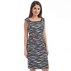 Solo - Grey louise belt dress