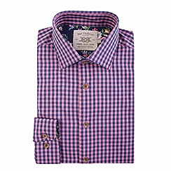 Bar Harbour - Pink gingham check casual shirt