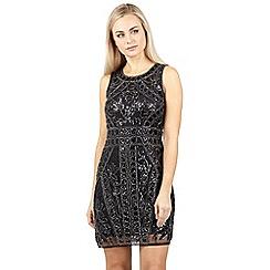 Izabel London - Black embellished dress
