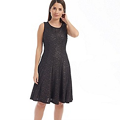 Solo - Bronze priya fit and flare dress