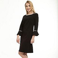 Anna Field - Black pearl valance sleeve dress