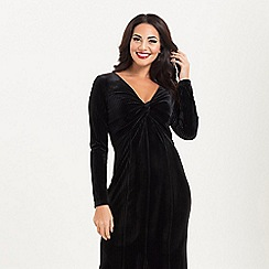Voodoo Vixen - Black morticia gown