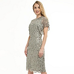 Anna Field - Silver Scallop Detail Sequins Dress