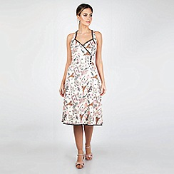 Voodoo Vixen - Cream Claudine Parisian Summer Dress