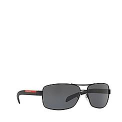 Prada Linea Rossa - Black PS 54IS rectangle sunglasses