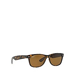 Ray-Ban - Brown 'New Wayfarer' RB2132 sunglasses