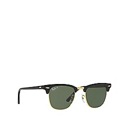 Ray-Ban - Black 'Clubmaster' RB3016 square sunglasses