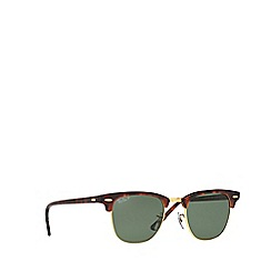 Ray-Ban - Red 'Clubmaster' RB3016 square sunglasses