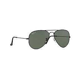Ray-Ban - Black pilot '0RB3025' sunglasses