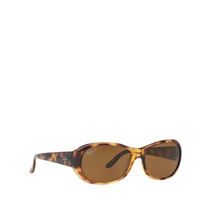 9d836c4834 Ray-Ban Havana oval RB4061 sunglasses