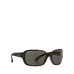 Ray-Ban - Brown RB4068 square sunglasses