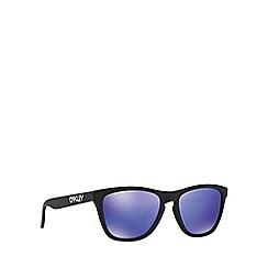 Oakley - Black 'Frogskins' OO9013 square sunglasses