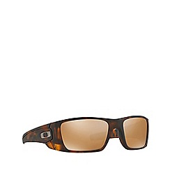 Oakley - Havana 'Fuel Cell' OO9096 rectangle sunglasses