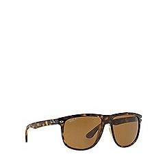 Ray-Ban - Brown RB4147 square sunglasses