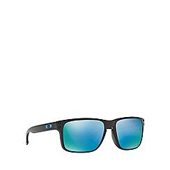 Oakley - Black 'Holbrook' OO9102 rectangle sunglasses