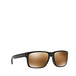 Oakley - Matte black 'Holbrook' square OO9102 sunglasses