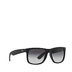 Ray-Ban - Black 'Justin' RB4165 rectangle sunglasses