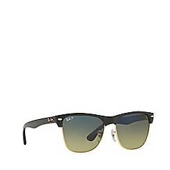 Ray-Ban - Black CLUBMASTER OVERSIZED RB4175 square sunglasses