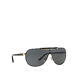 Versace - Gold VE2140 pilot sunglasses