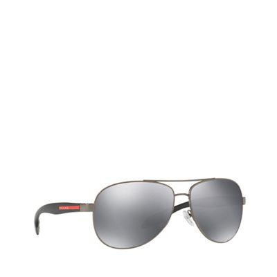 bea77dd0df8b Prada Linea Rossa Gunmetal BENBOW PS 53PS pilot sunglasses