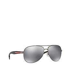 Prada Linea Rossa - Gunmetal BENBOW PS 53PS pilot sunglasses