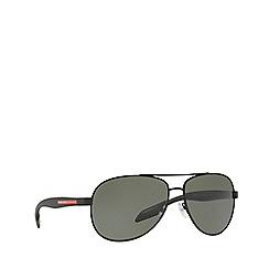 Prada Linea Rossa - Black BENBOW PS 53PS pilot sunglasses