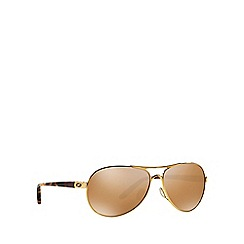 Oakley - Gold OO4079 pilot sunglasses