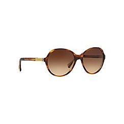 Ralph - Brown RA5187 round sunglasses