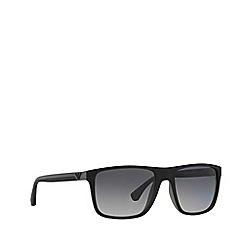 Emporio Armani - Black EA4033 square sunglasses