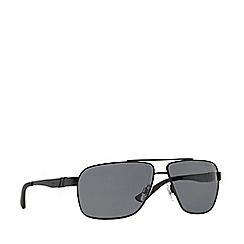 Polo Ralph Lauren - Black rectangle PH3088 sunglasses
